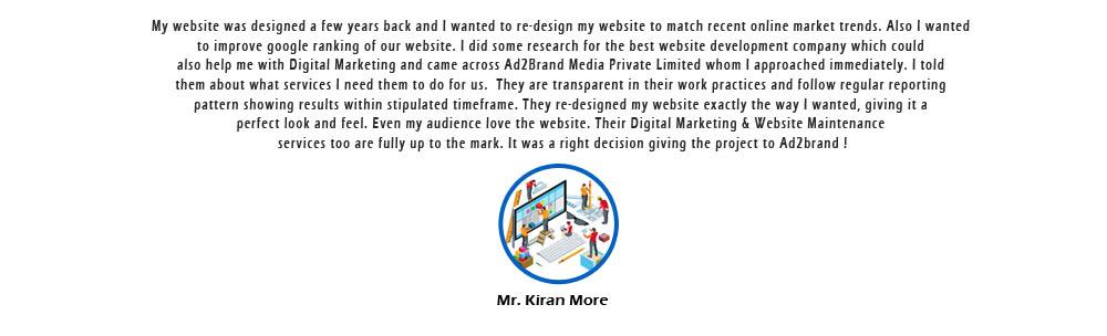Website Re-design_Kiran More