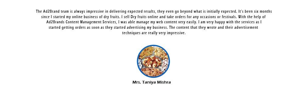 Content management_Taniya Mishra