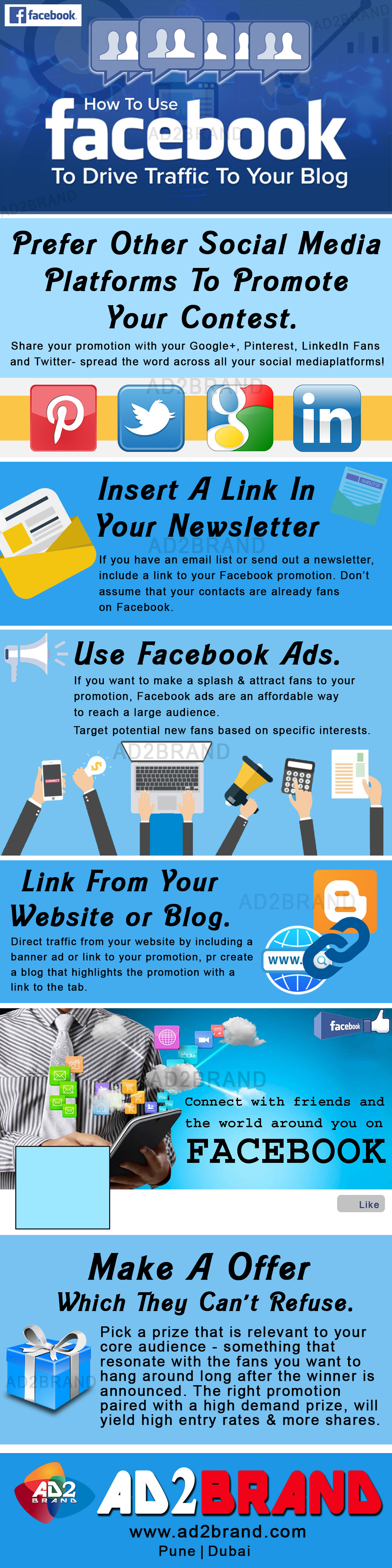 How to use facebook to drive traffic to your blog.